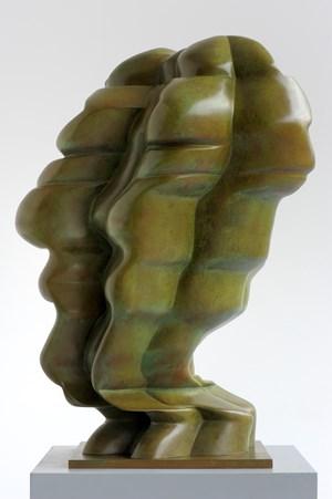 Woman's Head by Tony Cragg contemporary artwork