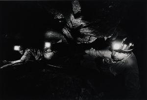 Shiftboss and Lashing Men in a stope, Consolidated Main Reef, Roodepoort. (3_D6997) by David Goldblatt contemporary artwork