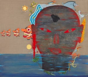In the Sky #2 by Dadang Christanto contemporary artwork