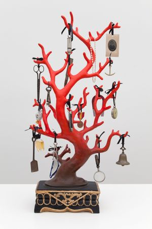 Blood Coral by Mark Dion contemporary artwork sculpture