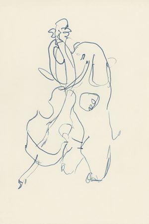 Cello's by Barry Flanagan contemporary artwork