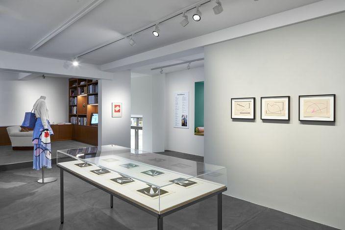 Exhibition view:Geta Brătescu, The Gesture, The Drawing, Hauser & Wirth. Rämistrasse 16, Zurich (23 October–12 December 2020). Courtesy Hauser & Wirth.