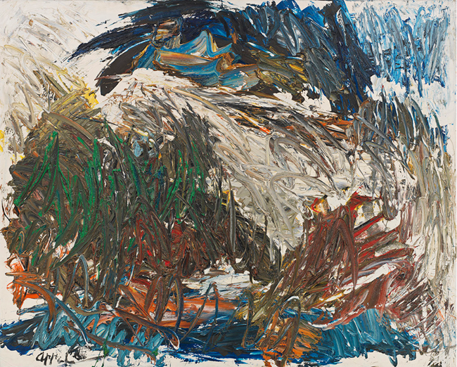Between Mud and Heaven by Karel Appel contemporary artwork