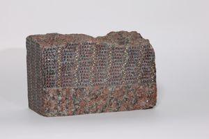 Granito rosso Sierra Chica [Red Sierra Chica granite] by Greta Schödl contemporary artwork