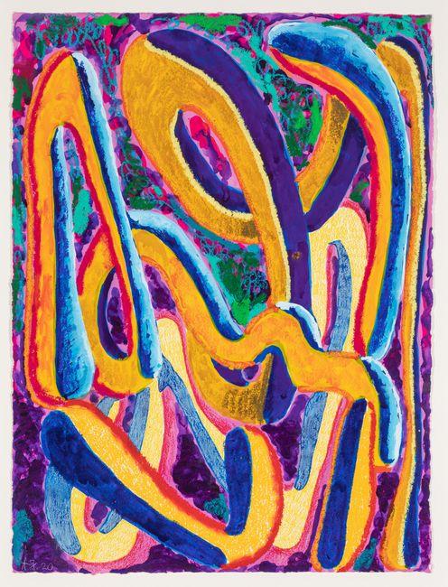 ride at dusk by Angus Gardner contemporary artwork