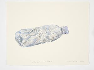 Watercolour Water Bottle by Gavin Turk contemporary artwork