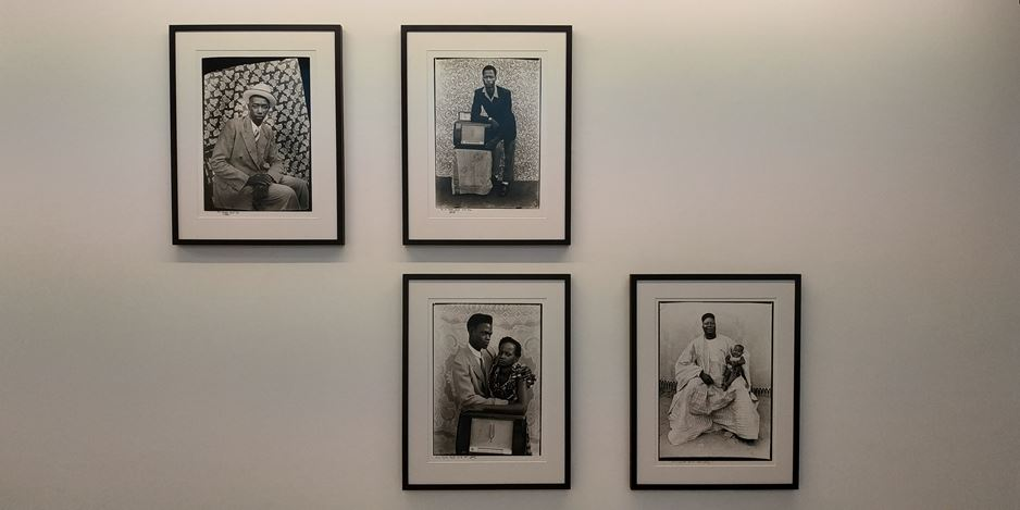 Exhibition view: Nobert Ghisoland & Seydou Keïta, Gallery FIFTY ONE, Antwerp (8 February–18 April 2020). Courtesy Gallery FIFTY ONE.