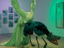 Monster Mash-Up: The Art Gallery As Haunted House