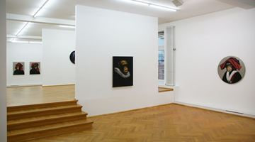 Contemporary art exhibition, Stefan à Wengen, Le Singe Peintre at Bernhard Knaus Fine Art, Frankfurt