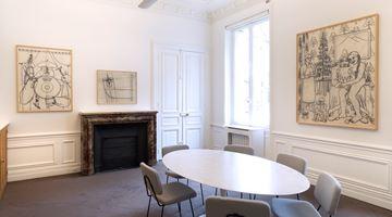 Contemporary art exhibition, Konrad Klapheck, Dessins (1974–2014) at Galerie Lelong & Co. Paris, 13 Rue de Téhéran, Paris