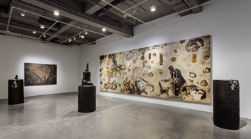 Contemporary art exhibition, Jing Shijian, The Snail's Universe and Playful Landscape at Arario Gallery, Shanghai
