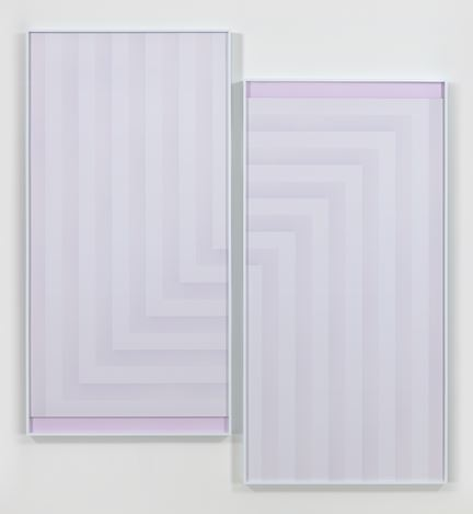 Sara VanDerBeek,Pieced Quilts, Wrapped Forms, 2016, Exhibition views. Courtesy of Metro Pictures, New York.