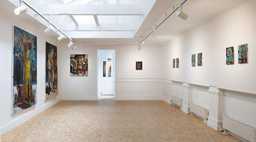 Contemporary art exhibition, Damien Deroubaix, Damien Deroubaix at HdM GALLERY, London