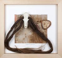 Ohne Titel (Serie: Eintagskästchen) by Daniel Spoerri contemporary artwork sculpture