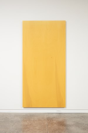 Falling Light (yellow) by Simon Morris contemporary artwork