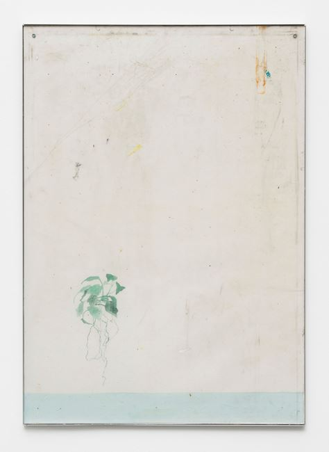 Endnote, ping (marder/green) by Ian Kiaer contemporary artwork