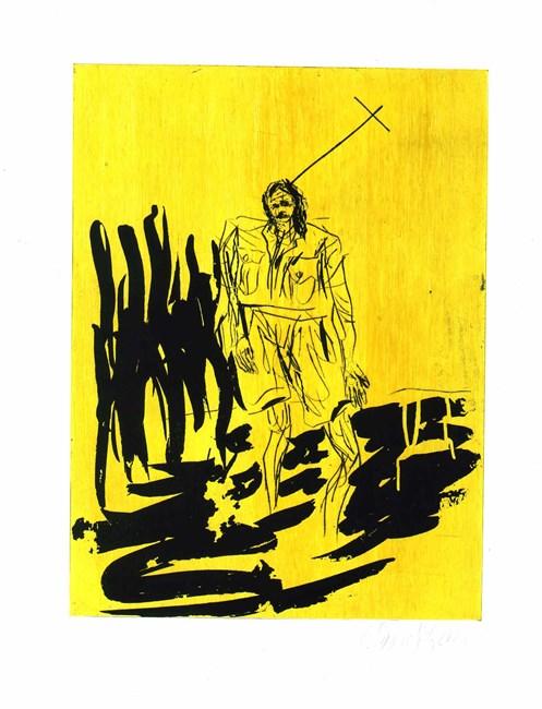 Der Hirte (from Remix) by Georg Baselitz contemporary artwork