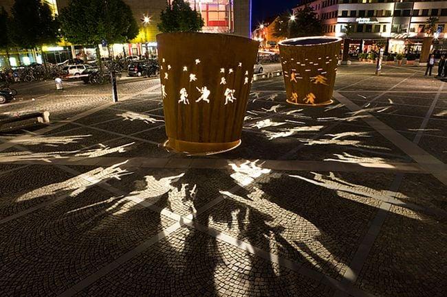 Battle Drums by Dennis Oppenheim contemporary artwork
