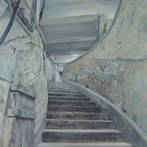 Central Mall - Spiral Stairs by Lu Liang contemporary artwork