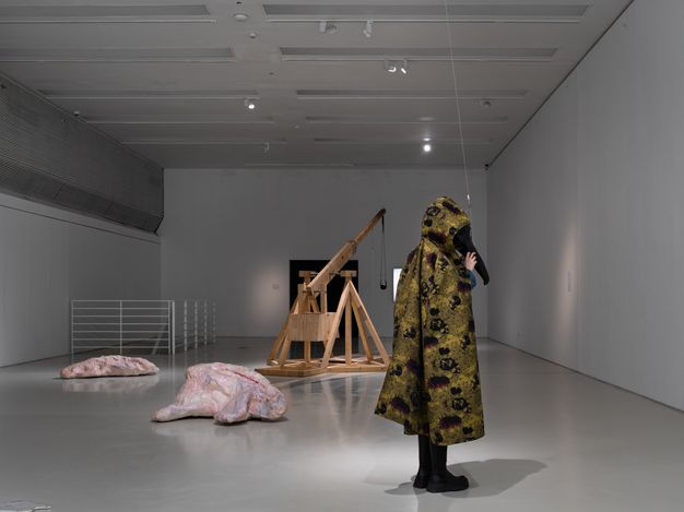 Exhibition view: Candice Lin, Pigs and Poison,Guangdong Times Museum (20 March–16 May 2021). Courtesy Guangdong Times Museum.