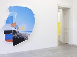 """Alex Israel<br><em>Summer</em><br><span class=""""oc-gallery"""">Almine Rech</span>"""