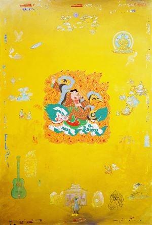 Dorje Legpa by Tim Johnson with Daniel Bogunovic contemporary artwork