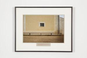 A l'espère / Terrain de pétanque au Cailar by Sophie Calle contemporary artwork