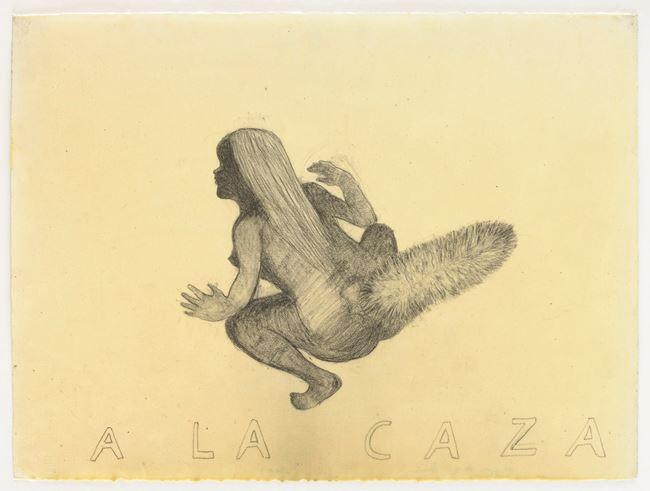 A LA CAZA by Sandra Vásquez de la Horra contemporary artwork