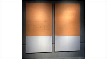 Contemporary art exhibition, Fredrik Værslev, Room #3 at KEWENIG, Berlin