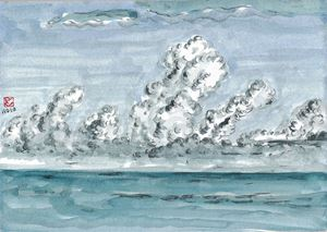 Cloud, Sky by Lin Chuan-Chu contemporary artwork