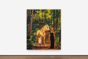Shania Twain's Horse 2 by Sam McKinniss contemporary artwork