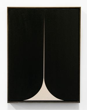 Black #4 by Johnny Abrahams contemporary artwork