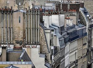 Paris Rooftops #8 by Michael Wolf contemporary artwork