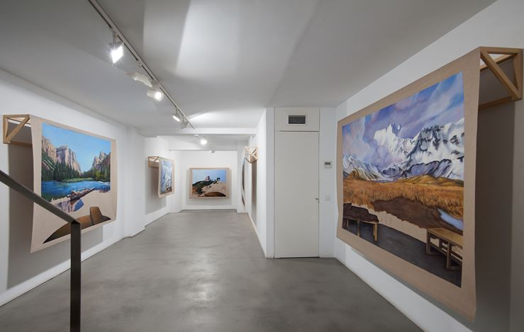 Exhibition view: Gabriela Bettini,Topografía del borrado, Sabrina Amrani, Madera, 23, Madrid (10 September–14 November 2020). Courtesy Sabrina Amrani.
