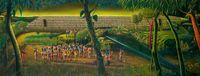 Tomorrow's Land by Vinod Balak contemporary artwork painting