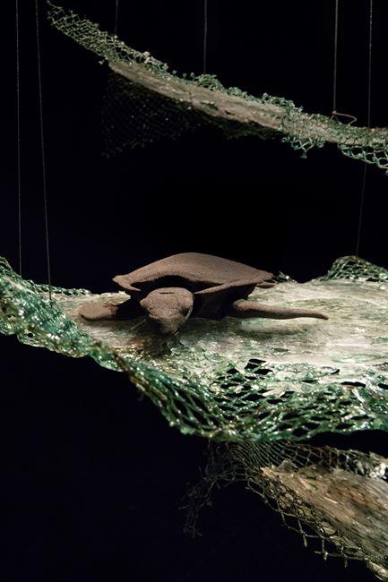 Shield Warrior For Biodiversity by Susanne Winterling contemporary artwork
