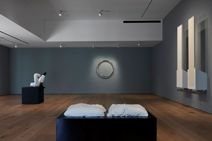 Exhibition view: Elmgreen & Dragset, Pace Gallery, East Hampton (8 October–15 November 2020). © Elmgreen & Dragset. Courtesy Pace Gallery.