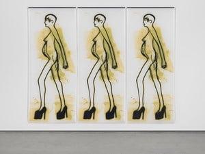 The Ethics of Desire by Ida Applebroog contemporary artwork
