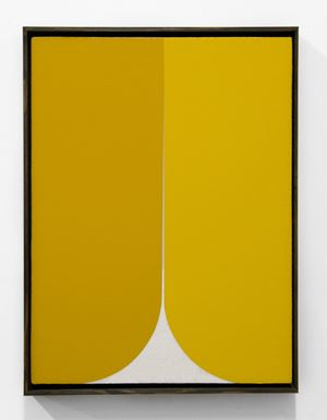 Yellow #1 by Johnny Abrahams contemporary artwork