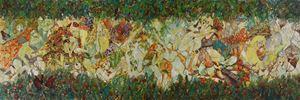 Secret in the Forest by Liu Chunliu contemporary artwork