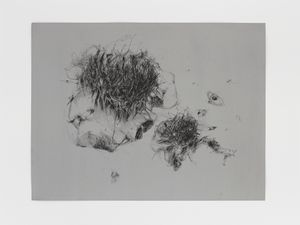 Always Floating In A Constant Distance 4 by Christine Ay Tjoe contemporary artwork drawing