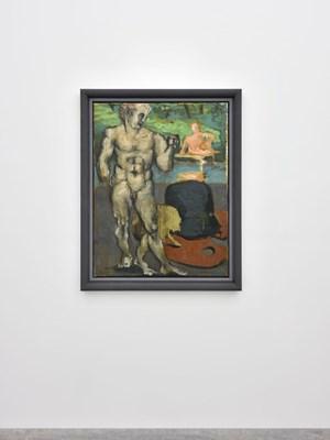 Arkadien (Quelle des Acheron) by Markus Lüpertz contemporary artwork