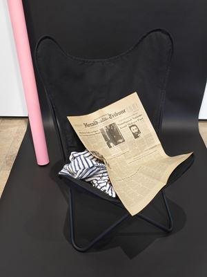 Homage to Jean Seberg by Barbara Bloom contemporary artwork