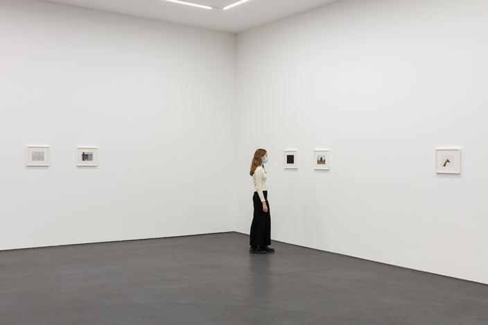 Exhibition view: Andrew Grassie, Still Frame, Esther Schipper, Berlin (1 November–27 November 2020). Courtesy the artist and Esther Schipper, Berlin. Photo: Andrea Rossetti.