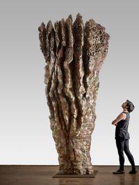 Z BOKU by Ursula von Rydingsvard contemporary artwork sculpture