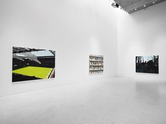 Exhibition view: Brian Alfred, Future Shock, Miles McEnery Gallery, New York (1 February–10 March 2018). CourtesyMiles McEnery Gallery, New York.