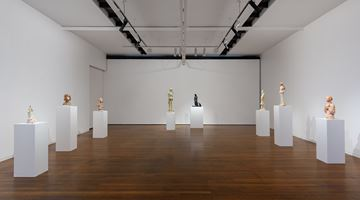 Contemporary art exhibition, Linda Marrinon, Scene at Edfu and other sculptures at Roslyn Oxley9 Gallery, Sydney
