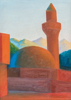 Minareto by Salvo contemporary artwork