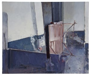 Blue dado by Zhang Litao contemporary artwork