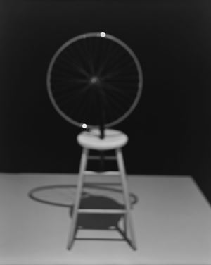 Past Presence 025, Bicycle Wheel, Marcel Duchamp by Hiroshi Sugimoto contemporary artwork